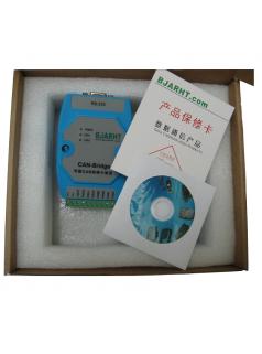 PLC联网CAN中继器 CAN光端机转换器