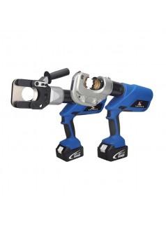 电动压接钳手持式端子充电液压钳10-400mm铜铝端子压线钳