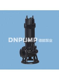 供应天津德能泵业QW高扬程大流量污水泵排污泵