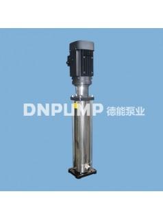 供应天津德能泵业CDL-CDLF不锈钢立式管道泵