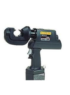 REC-15G充电式压接机充电式压接钳压线钳日本原装进口