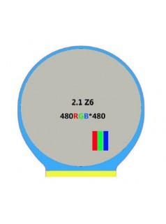 博虎电子:家电显示 温度显示 红外成像 仪器显示 2.1寸 圆形 液晶显示屏