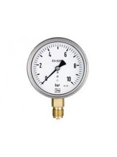 德国KOBOLD波登管压力表,全不锈钢压力表