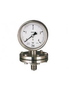 德国KOBOLD隔膜压力表MAN-P,全不锈钢压力传感器