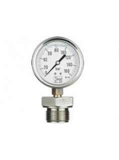 德国KOBOLD全不锈钢隔膜压力表MAN-RD.DRM-