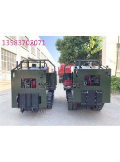 电动爬楼梯运输车  林业履带运输车视频履带货车10吨