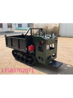 工程山地履带式运输车 农用田间大棚搬运机  小型橡胶履带运输车
