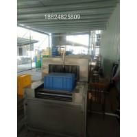 广东厂家直供周转箱喷淋清洗机 高效率省人工