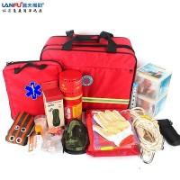 LF-12102家用应急救援装备包救援组合工具包救援专用包
