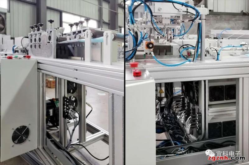 宜科连接系统产品助力口罩高速稳定生产
