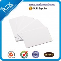 芯片白卡 考勤IC卡 可打印芯片白卡批发