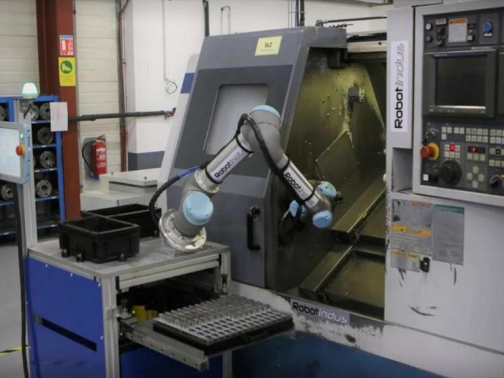 丹麦优傲机器人UR16e助力重金属去毛刺,每天处理1吨零件!