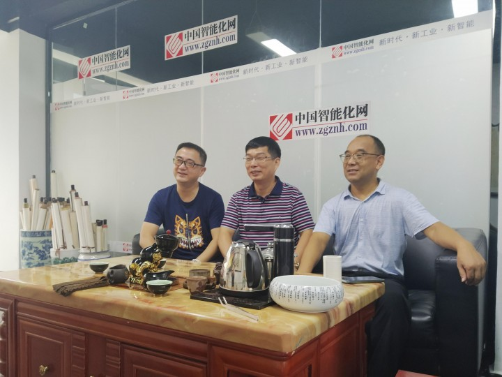 卢家阳先生  史向军院长到深圳市智能化学会指导工作