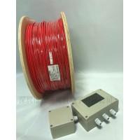 变电站用金属编织感温电缆/屏蔽线型感温火灾探测器
