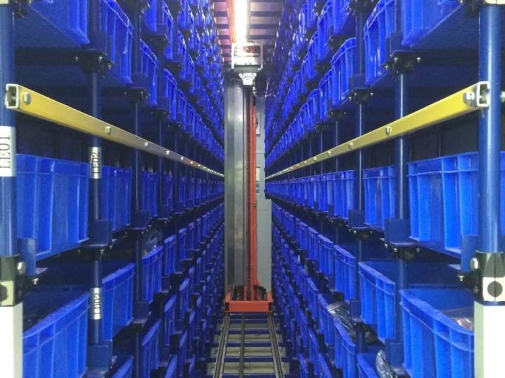 自动化仓储设备的特点