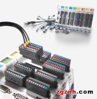 魏德米勒PCB接插件:可靠联接Jetter的JX3 I/O系统中的远程传感器