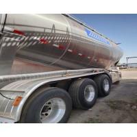 出售铝合金散装水泥车 38立方粉粒物料运输半挂车