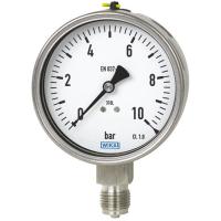 WIKA威卡压力表111.10充油隔膜不锈钢防爆