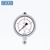 WIKA压力表233.53.063轴向三孔边M14*1.5