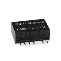 无源型两线制电压信号转无源两线制4-20mA隔离变送器