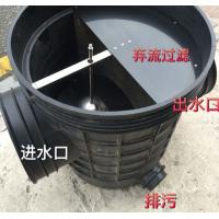 雨水收集全自动弃流装置、雨水回收pp模块