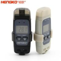 USB无线高精度便携式温湿度记录仪,自动存储数据,PDF