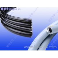平包塑金属软管 平滑包塑金属管 平包塑镀锌钢金属软管