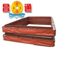矩形变径非金属补偿器纤维织物软连接生产加工