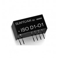 低成本小体积两线无源信号隔离放大器ISO D2-O1