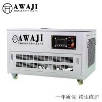 四缸水冷静音15千瓦汽油发电机报价
