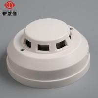批发机房安装温度探测报警器24V联网、80度温度探测报警器