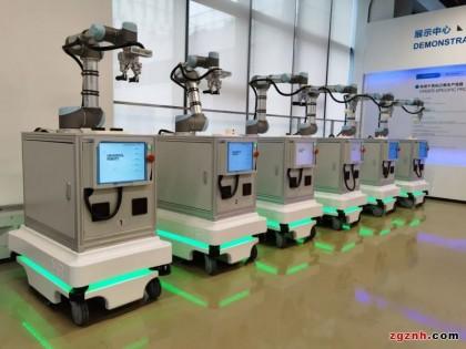 6台MiR100移动复合机器人为中德智能制造研究院打造柔性化生产新标杆