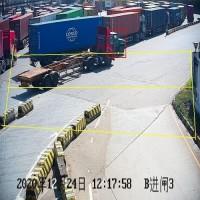港口大货车进出口安全管控AI智能抓拍预警系统
