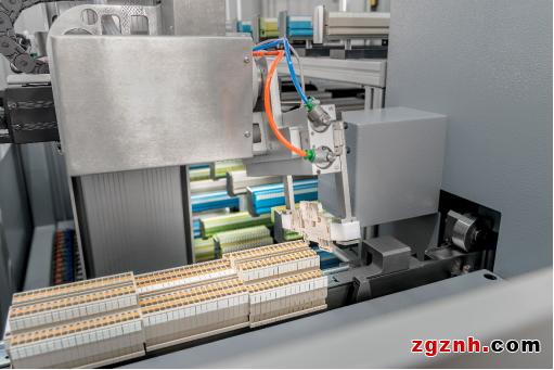 魏德米勒自动端子装配机优化机柜建设