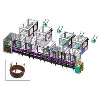 新能源驱动发卡电机定子装配线