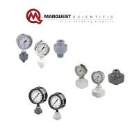 美国Marquest Scientific塑料针阀/龙头/隔膜压力表