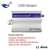 GSM modem调制解调器USB/RS232短信设备WAVECOM Q2403 M1306B