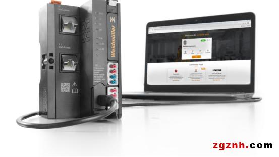 魏德米勒采用容器技术的u-co<i></i>ntrol web在工业应用中具有更高的灵活性